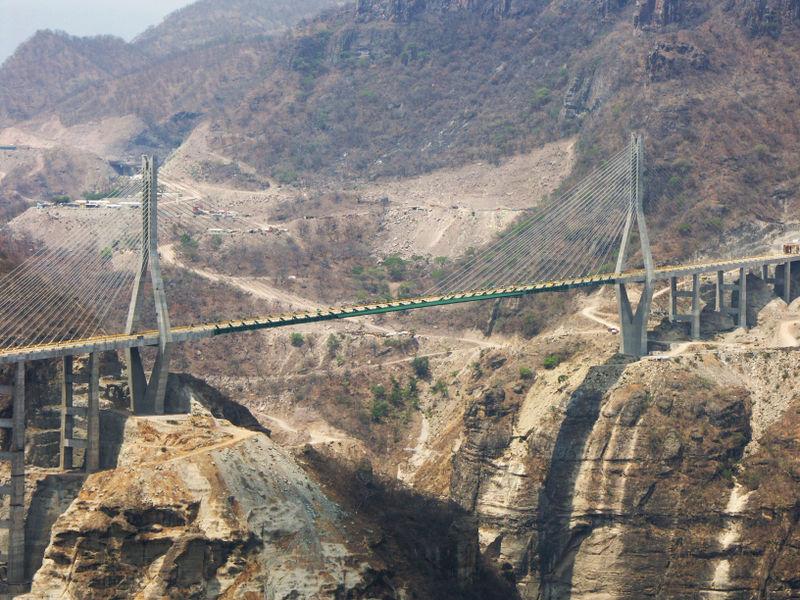 México Supercarretera Durango Mazatlán Y Puente Baluarte Página